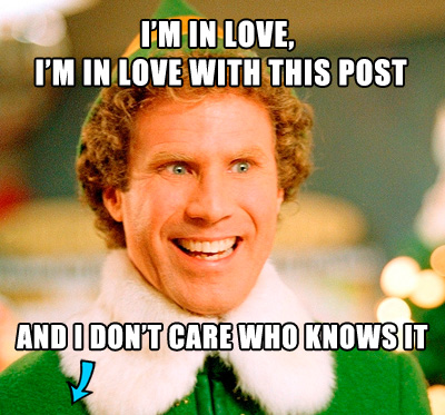 Buddy the Elf loves posts about data-driven campaigns